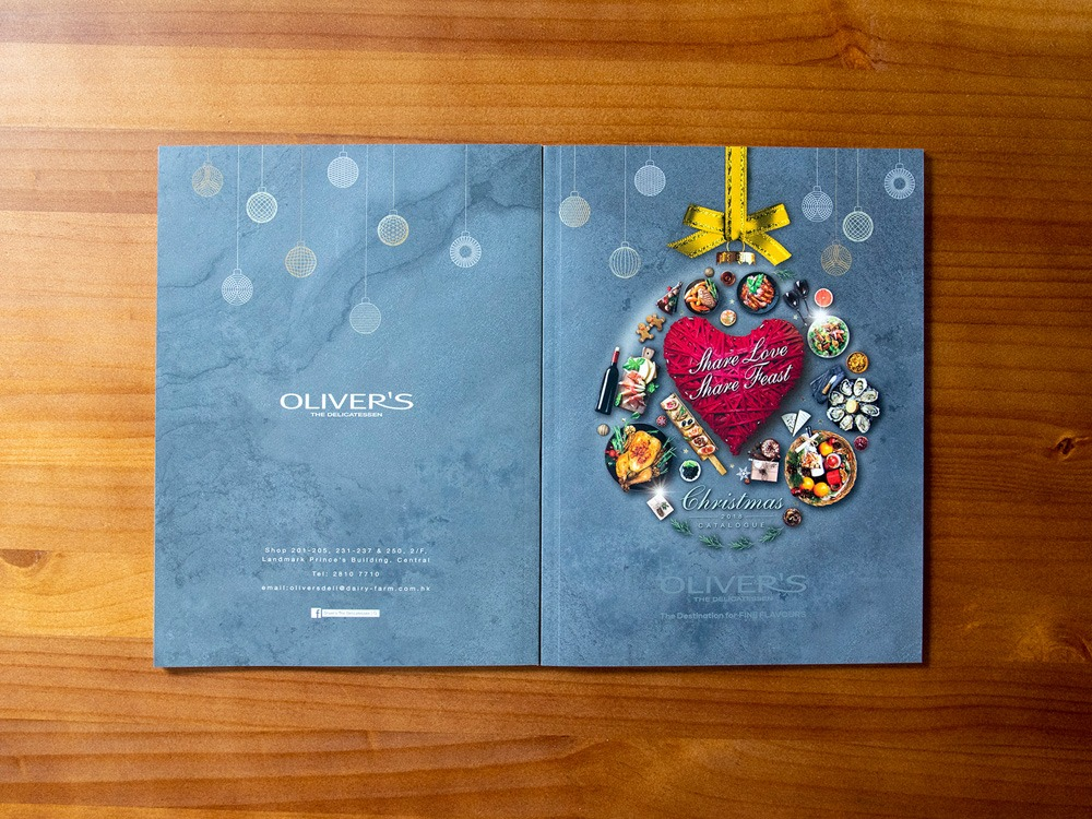 Olivers Christmas Catalogue